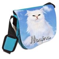 Sac bandoulière Chat chaton personnalisé avec prenom