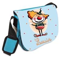 Sac bandoulière Clown personnalisé avec prenom