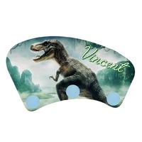 Porte manteau Dinosaure personnalisé avec prénom