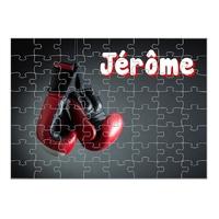 Puzzle Boxe personnalisé avec prénom 35,70 ou 96 pièces