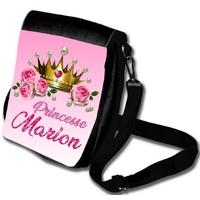 Sac à bandoulière Princesse personnalisé avec prénom