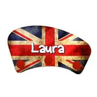 Porte manteau Anglais personnalisé avec prénom