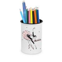 Pot à crayons Danse classique personnalisé avec prénom