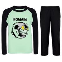 Pyjama enfant Football personnalisé avec prénom