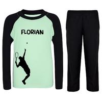 Pyjama enfant Tennis personnalisé avec prénom
