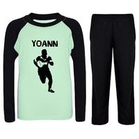 Pyjama enfant Rugby personnalisé avec prénom