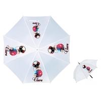 Parapluie Adulte Chien Bouledogue disco  personnalisé avec prénom