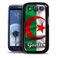 Coque samsung galaxy S4 S5 S6 S7 S8 S9 Algérie personnalisée avec prénom