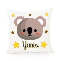 Coussin bébé Koala personnalisé avec prénom