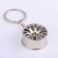 Porte-clés Jante de voiture en métal