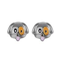 Boucles d'oreilles clous Têtes de Chien