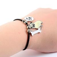 Bracelet fantaisie corde Chien Carlin