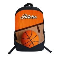 Cartable Sac à dos Basketball personnalisé avec prénom