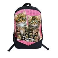 Cartable Sac à dos Chats chatons personnalisé avec prénom
