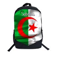 Cartable Sac à dos Algérie personnalisé avec prénom