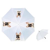 Parapluie Adulte Bouledogue français personnalisé avec prénom
