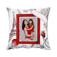 Coussin personnalisé avec votre photo... Thème Paris