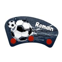 Porte manteau Football personnalisé avec prénom