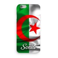 Coque Algérie 3D Iphone 5/6/7/8/X/XR/XS personnalisée avec prénom