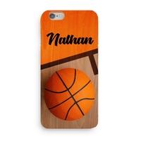Coque Basketball 3D Iphone 5/6/7/8/X/XR/XS personnalisée avec prénom