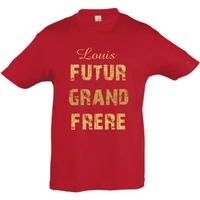 Tee shirt Futur grand frère personnalisé avec prénom **coloris au choix