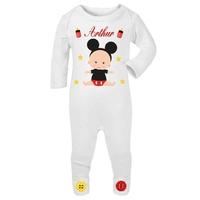 Pyjama bébé Garçon personnalisé avec le prénom de votre choix