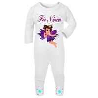 Pyjama bébé Fée personnalisé avec le prénom de votre choix