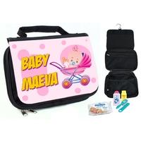 Trousse de toilette bébé Fille personnalisée avec prénom