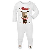 Pyjama bébé Chien personnalisé avec prénom