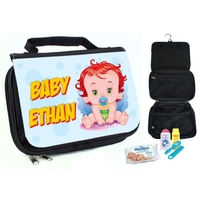 Trousse de toilette bébé Garçon personnalisée avec prénom