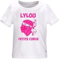 Tee shirt bébé Corse personnalisé avec le prénom de votre choix