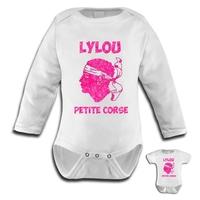 Body bébé Corse personnalisé avec le prénom de votre choix