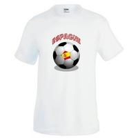 Tee shirt homme Ballon de football ESPAGNE