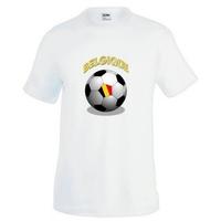 Tee shirt homme Ballon de football BELGIQUE