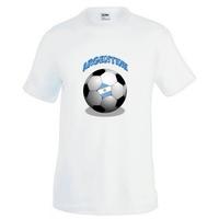 Tee shirt homme Ballon de football ARGENTINE