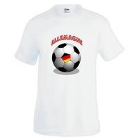 Tee shirt homme Ballon de football ALLEMAGNE
