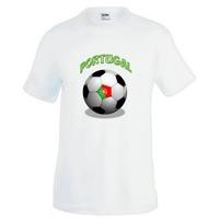 Tee shirt homme Ballon de football PORTUGAL