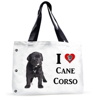 Grand sac cabas chien I LOVE CANE CORSO