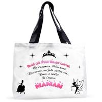 Grand sac cabas Maman Conte de fée
