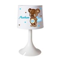 Lampe de chevet Nounours personnalisée avec prénom