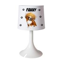 Lampe de chevet ou de bureau Chien Chihuahua personnalisée avec prénom