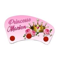 Porte manteau Princesse personnalisé avec prénom