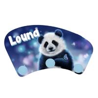 Porte manteau Panda personnalisé avec prénom