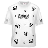 Tee shirt enfant Panda personnalisé avec prénom