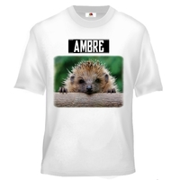Tee shirt enfant Hérisson personnalisé avec prénom