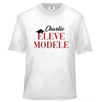 Tee shirt enfant Elève Modèle personnalisé avec prénom