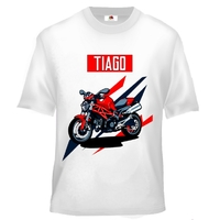 Tee shirt enfant Moto personnalisé avec prénom