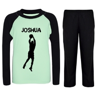 Pyjama enfant Basketball personnalisé avec prénom