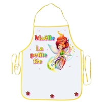 Tablier enfant Fée Multicolore personnalisé avec prénom