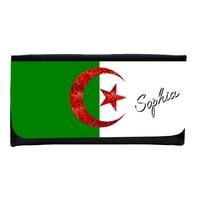 Portefeuille femme en simili cuir Algérie personnalisé avec prénom